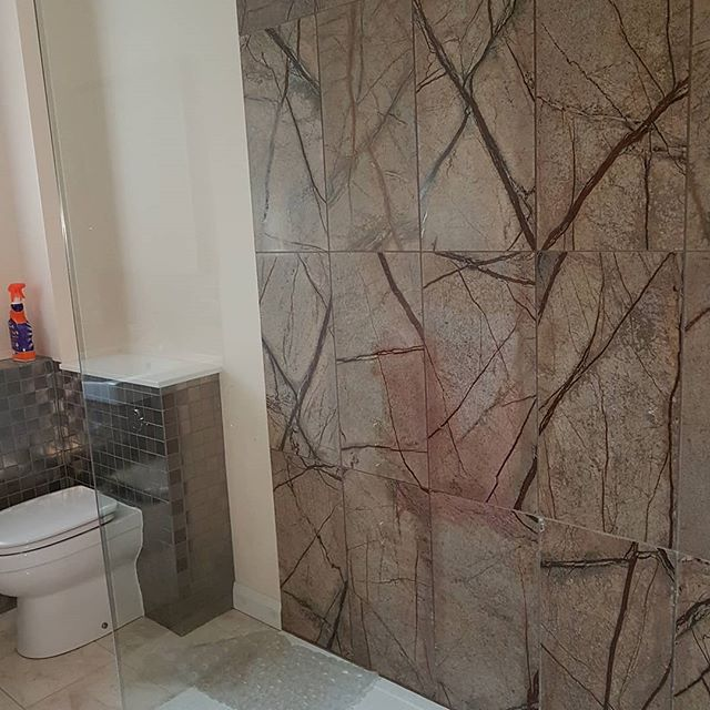 Rainforest Brown Marble Tiles 610 Mm X 305 10